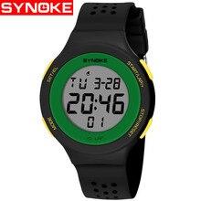 SYNOKE Led Digital Men Watch Alarm Military Sports 30M Waterproof women Watches Casual Wristwatches Relogio Feminio