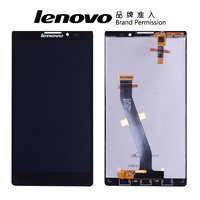 100 Tested Brand Black TFT 1920x1080 For Lenovo Vibe Z K910 LCD Display Touch Screen With
