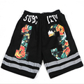 3M Reflective Shorts masculino Shorts 13 Loose Harem Shorts Bermuda Masculina Casual Trousers HipHop Summer 2017