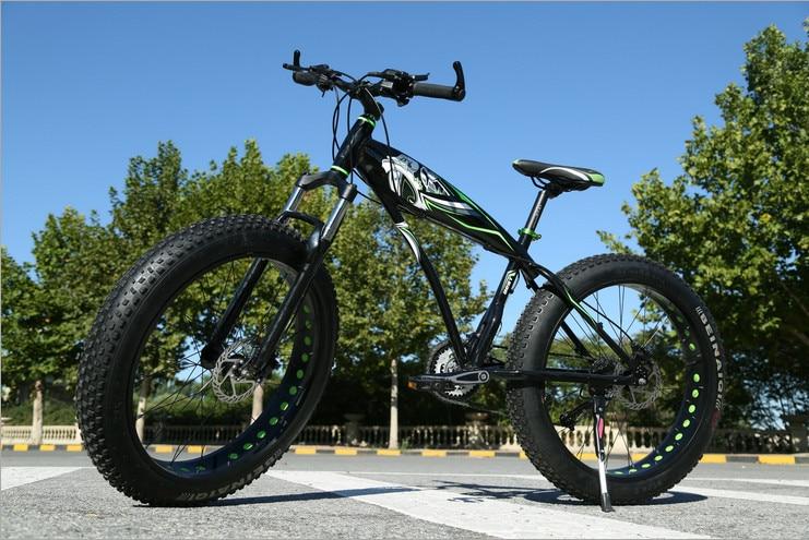 Originální značka X-Front Sněžný skútr 7,21 rychlosti 26 palců tlustá pneumatika kotoučová brzda MTB Mountain Bike Terénní redukce převodových stupňů Beach Bike