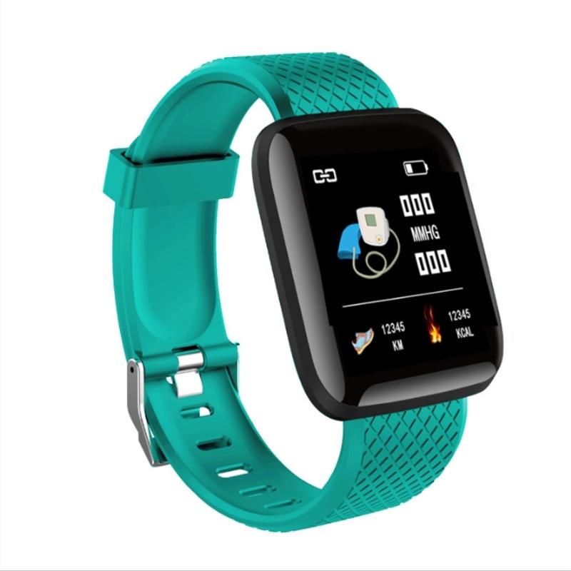Pedometer Watch Fitness-Tracker Smart-Bracelet Blood-Pressure-Measurement Waterproof