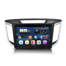 "10.2 ""Quad Core Android 4.4 1024X600 Radio de Coche DVD GPS de Navegación Multimedia Central para Hyundai IX25 2015 3G WIFI Bluetooth DVR"