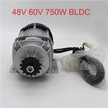Electric Tricycle Quadrocycle Generator Conversion Kit 48V 60V 750W Mid Drive Brushless Gear Motor For Motorcycle Car BM1418ZXF