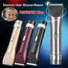 Top Quality US EU UK Aluminum Alloy Electric Clipper Hair Trimmer Professionl Rechargeable Hair Cutting Machine