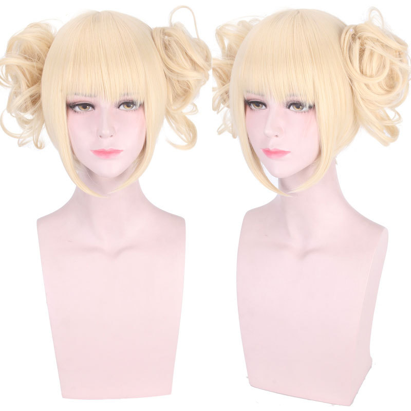 new high quality himiko toga cosplay wig my hero academy costume play wigs halloween costumes wigs