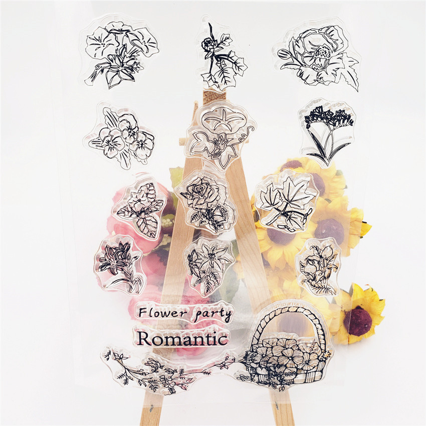 Romantic Mini French Words Cutting Dies Stencil Scrapbook album Embossing Card