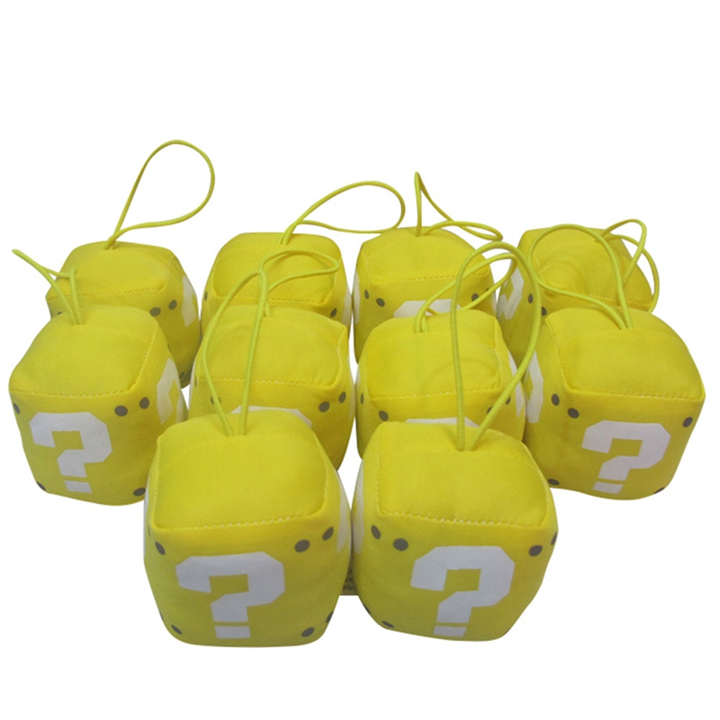 Question Mark Plush Pendant Soft Stuffed Toys Dolls