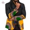 Personalizado Mens Africano Roupas Bazin Rico Homens Blazers Casacos Denim Blazers Homens Imprimir Dashiki Cotton Mens Roupas 6XL BRW WYN177