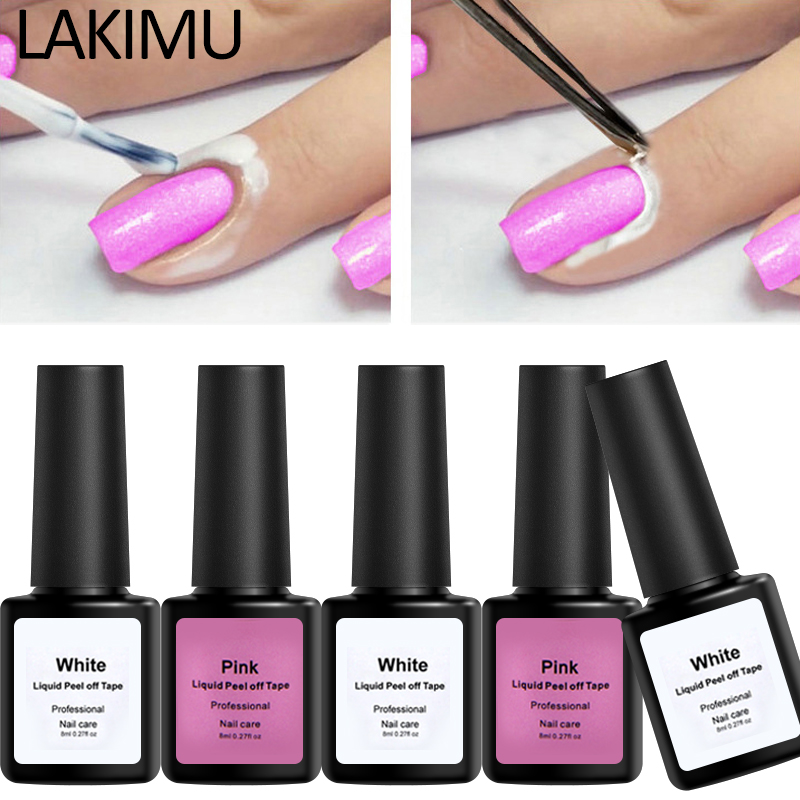 Nail Striping Tape Walmart: Lakimu Peel Off Tape Nail Polish Base Peel Off Protection