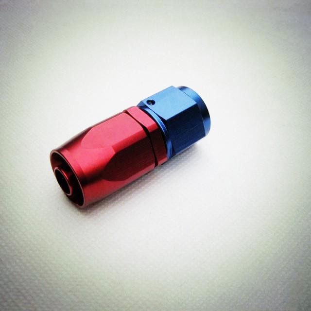 Hetero An10 Quick-Instalação Do Carro Liga de Alumínio Conector Do Tubo De Óleo-Vermelho + Azul