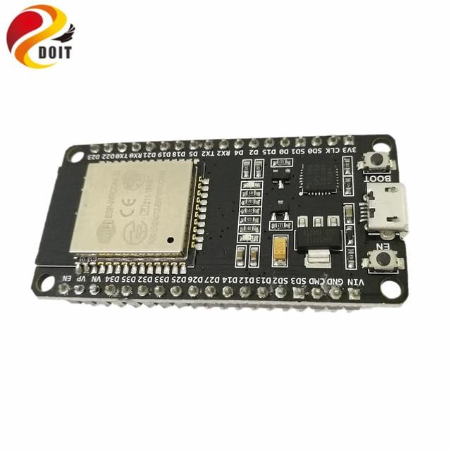 DOIT ESP32 Development Board WiFi+Bluetooth UltraLow Power Consumption Dual Cores ESP-32 ESP-32S ESP 32 Similar ESP8266