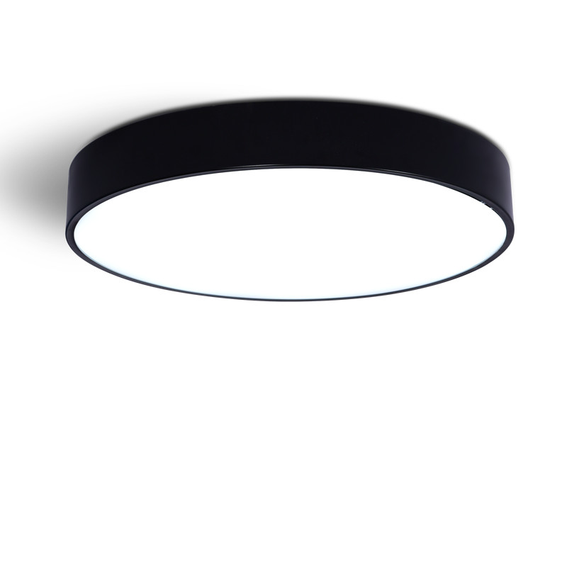 Jednostavna moderna svjetlosno okrugla strop dnevna soba blagovaonica - Unutarnja rasvjeta - Foto 3