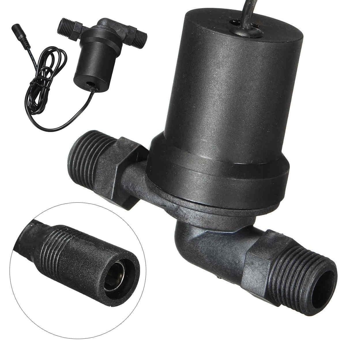 Mayitr Solaire Pompe de Circulation D'eau Chaude Brushless Moteur 1/2 inch Fil 650L/H Pompe à Eau Sans Balais 12 v DC Nouvelle