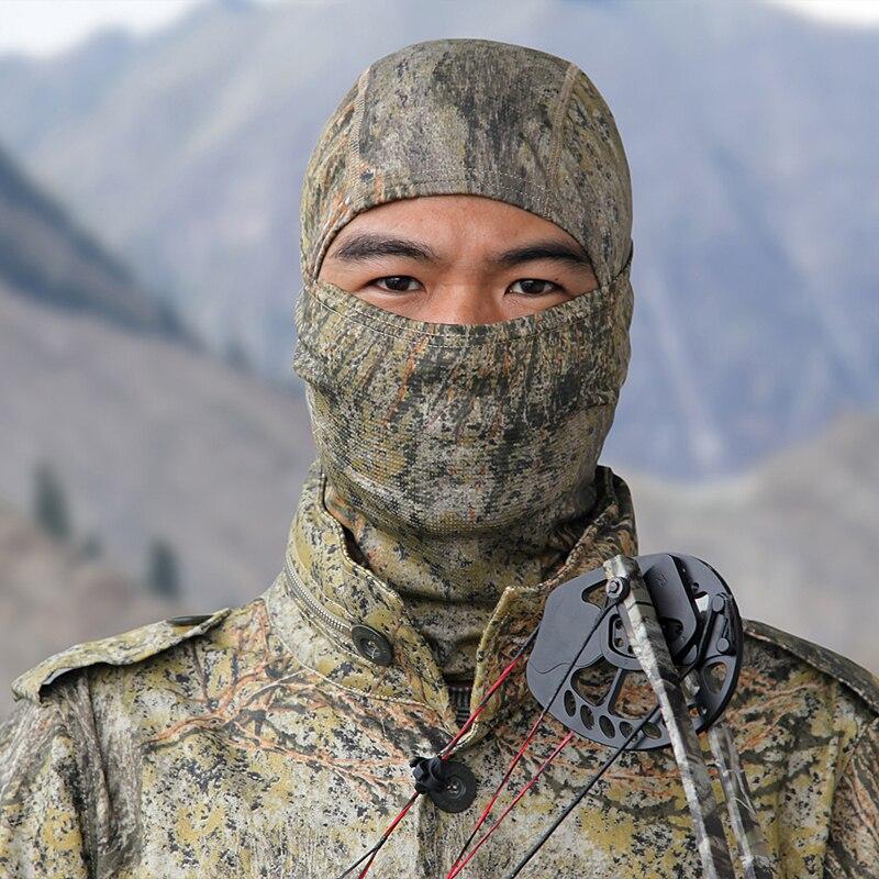 Bionic Camo Lightweight Camo Balaclava Hood / casco táctico Nijia / - Accesorios para la ropa - foto 2
