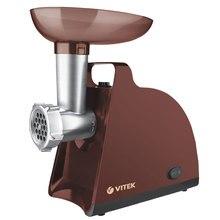 Мясорубка электрическая VITEK VT-3612 BN (Пиковая мощность 1700 Вт, номинальная мощность 300 Вт, производительность 1.5 кг/мин, реверс)