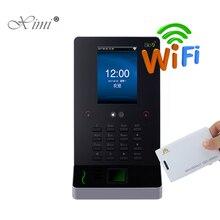Новинка! wifi лицо посещаемость времени и контроль доступа с 125 кГц RFID карты ZK UF600 лица и регистратор времени с дактилоскопией времени часы