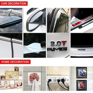 Image 5 - 3M אורך שקוף דו צדדי קלטת רכב מדבקת כפול קצף פנים דבק קלטת אוטומטי דבק מדבקת רב תפקודי עבור רכב