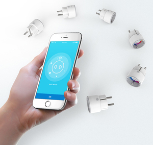 Image 3 - NEO Coolcam enchufe de onda Z para automatización del hogar, Mini toma de onda Z, por teléfono inteligente Control inalámbrico, 4 unids/lote