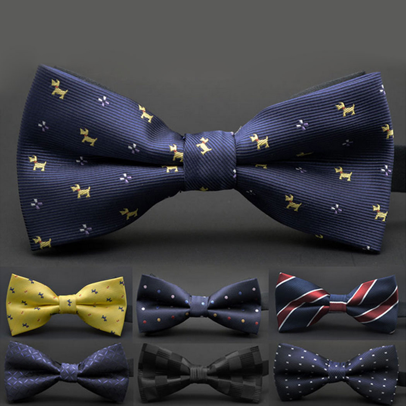 Fashion 1 Pc For men Hot Colorful Adjustable Point Satin Classic Wedding Bow Tie Necktie