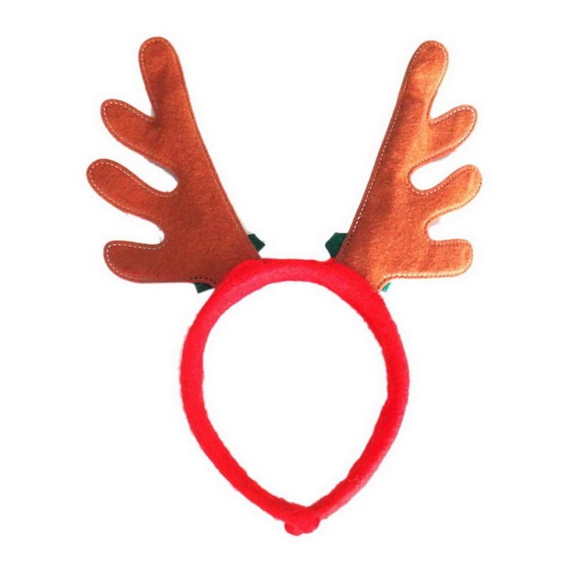 Rentier Geweih Stirnband Weihnachten Rudolph Urlaub Partei Plüsch ...