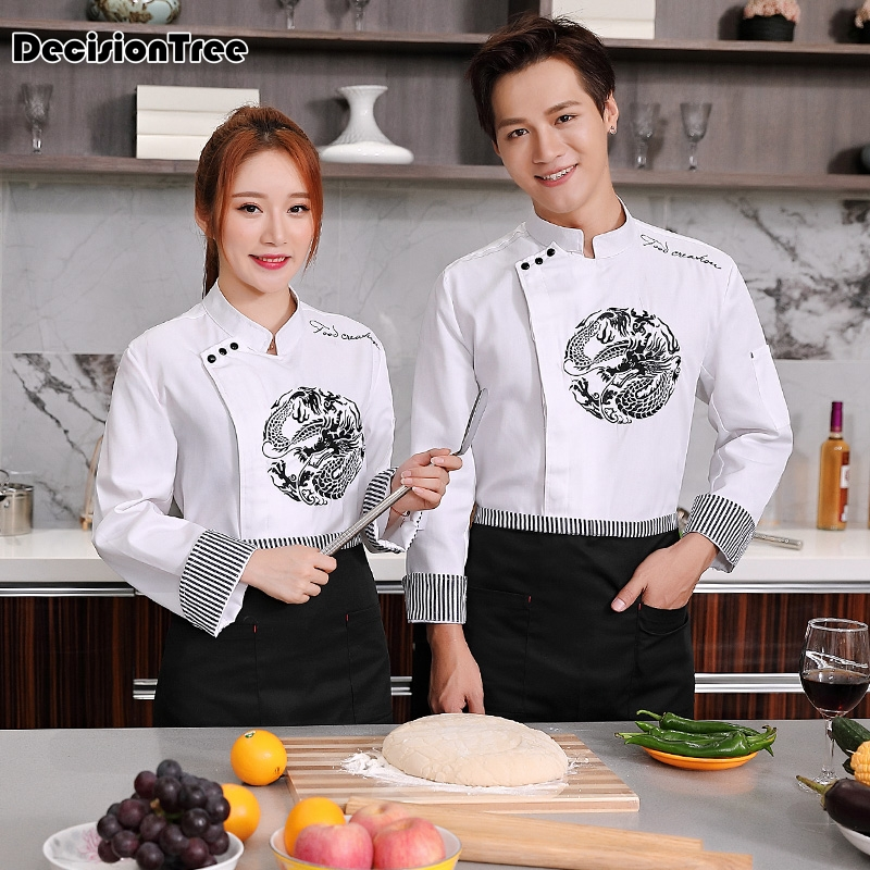 2020 Short Sleeve Chefs Uniform Breathable Net Chef Shirt Special Mesh Cool Chef White Uniform Waiter Workwear Jacket