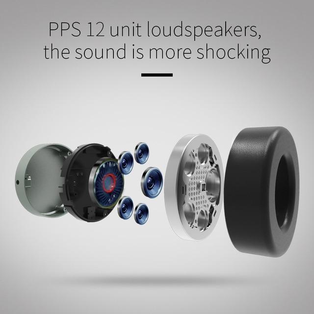 Bluedio V2 bluetooth headphone PPS12 drivers HIFI headphone with microphone 3