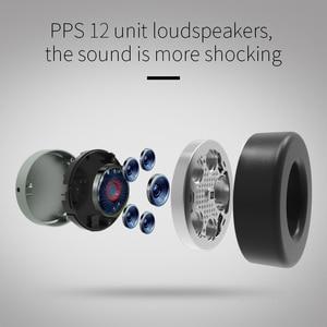 Image 3 - 業bluedio V2ワイヤレスヘッドフォンbluetoothヘッドセットPPS12ドライバハイファイヘッドホンとマイクハイエンド電話