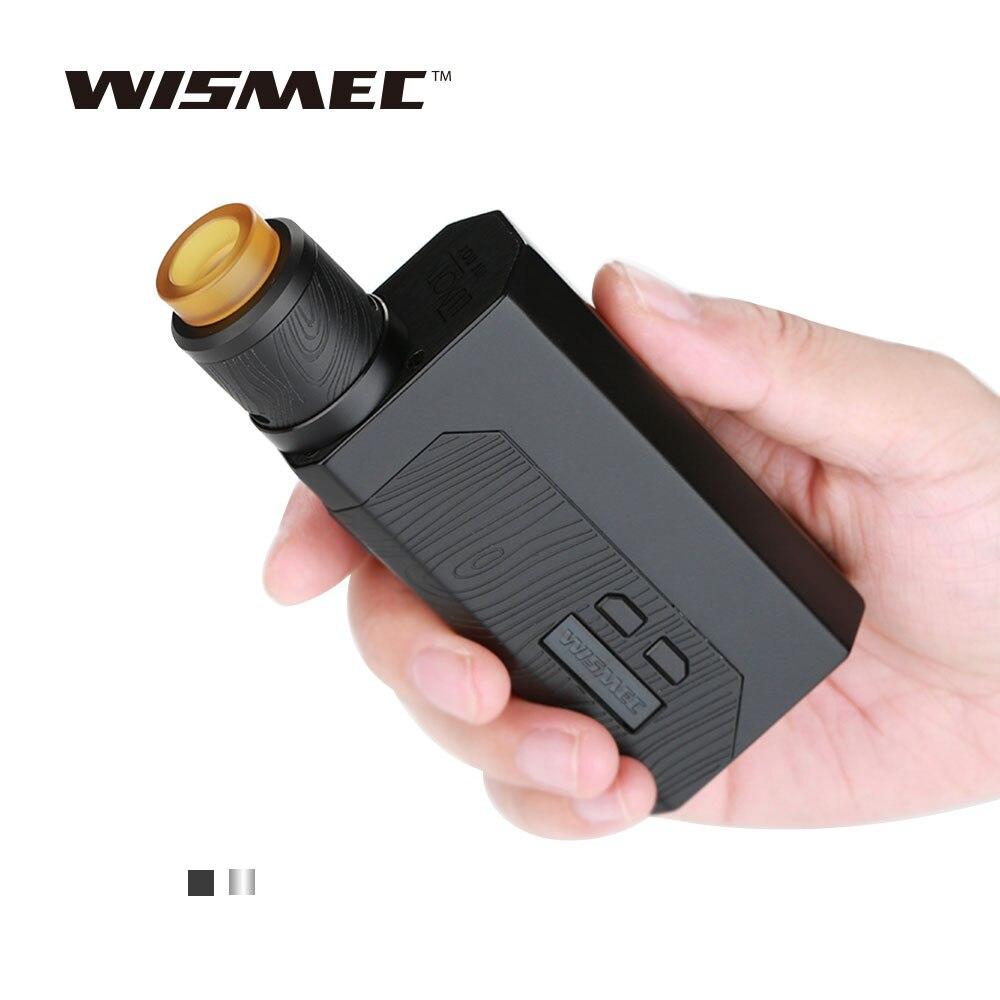 D'origine Wismec Luxotic MF Boîte Kit avec 7 ml Squonk Bouteille et Guillotine Version 2 RDA Cigarette Électronique Vaporisateur Kit VS Luxotic BF
