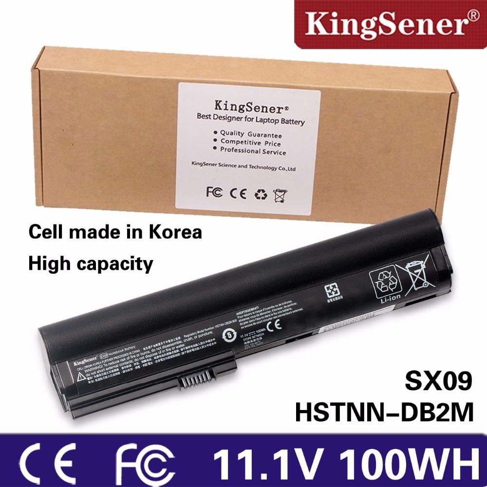 KingSener New SX09 Laptop Battery for HP EliteBook 2560P 2570P HSTNN-UB2K HSTNN-DB2L HSTNN-DB2M HSTNN-UB2L HSTNN-UB2J SX06 SX03 original new laptop battery for dm3 dm3 1000 dm3 1100 hstnn db0l hstnn ub0l 577093 001 hstnn e02c hstnn e03c