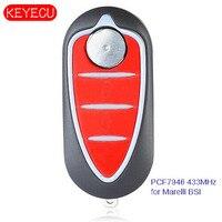 Keyecu 3B Remote Flip Key for Alfa Romeo Giulietta 2010 Marelli BSI 433MHz & PCF7946