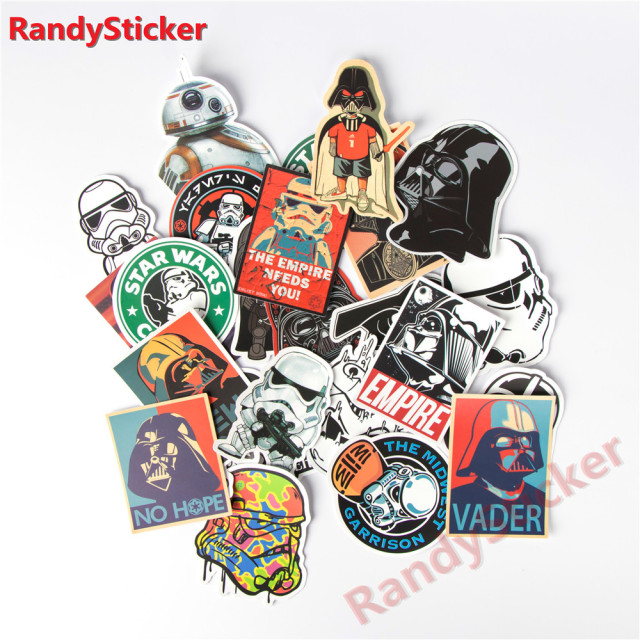 Star War Waterproof Creative Sticker