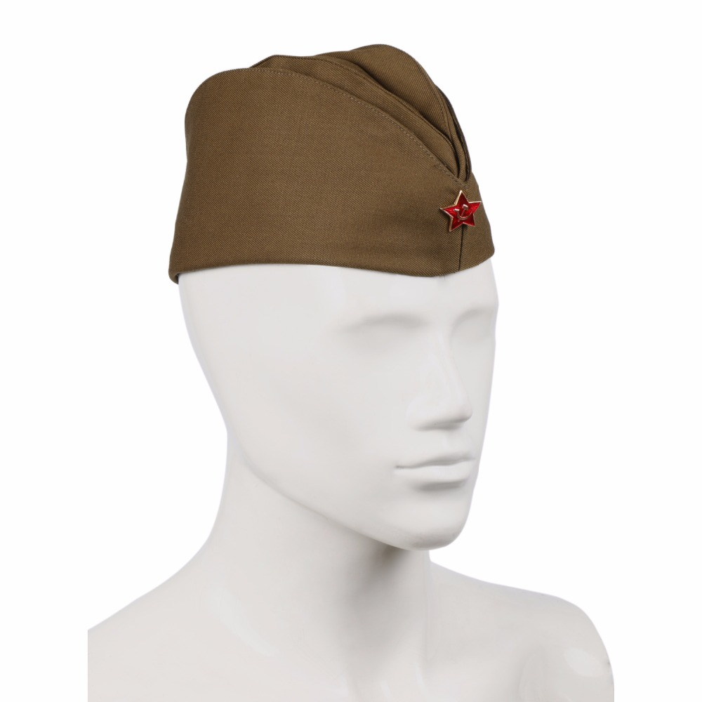 4fdc75c5c WWII USSR SOVIET MILITARY ARMY GARRISON CAP WITH BADGE-in Military Hats  from Men's Clothing & Accessories on Aliexpress.com | Alibaba Group
