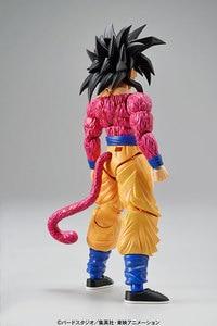 Image 3 - PrettyAngel   Genuine Bandai Figure rise Standard Assembly Dragon Ball GT Super Saiyan 4 Son Goku Plastic Model Action Figure