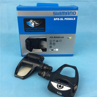 SHIMANO PD R540 LA Road Bicycle Pedals Bike Self Locking Pedal R540 Light Action Road Cycling
