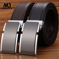 The Young Men S Leather Genuine Leather Brand Belt Buckle Belt Smooth Male Fashion Business Strap