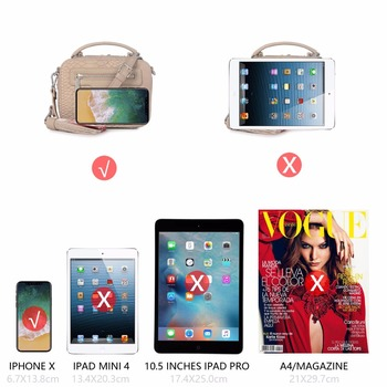 AiiaBestProducts David Jones Name Brand Crossbody Bag 3