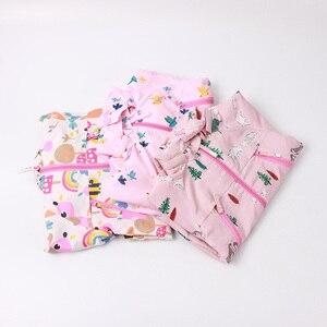 Image 3 - Детские толстовки с капюшоном для девочек 2 9 лет, повседневные ветрозащитные куртки с принтом животных для девочек, весна лето 2019