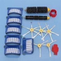 AeroVac Filter Side Brush Bristle And Flexible Beater Brush For 600 620 625 630 650 660
