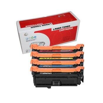 1PK CF320A CF321A CF322A CF323A compatible for HP LaserJet Enterprise M651dn M651n M651xh MFP M680dn M680f M680z printer