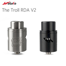 Original Wotofo The Troll RDA V2 Tank 22mm Atomizer Two different AFC options 510 Pin Electronic Cigarette Atomzier