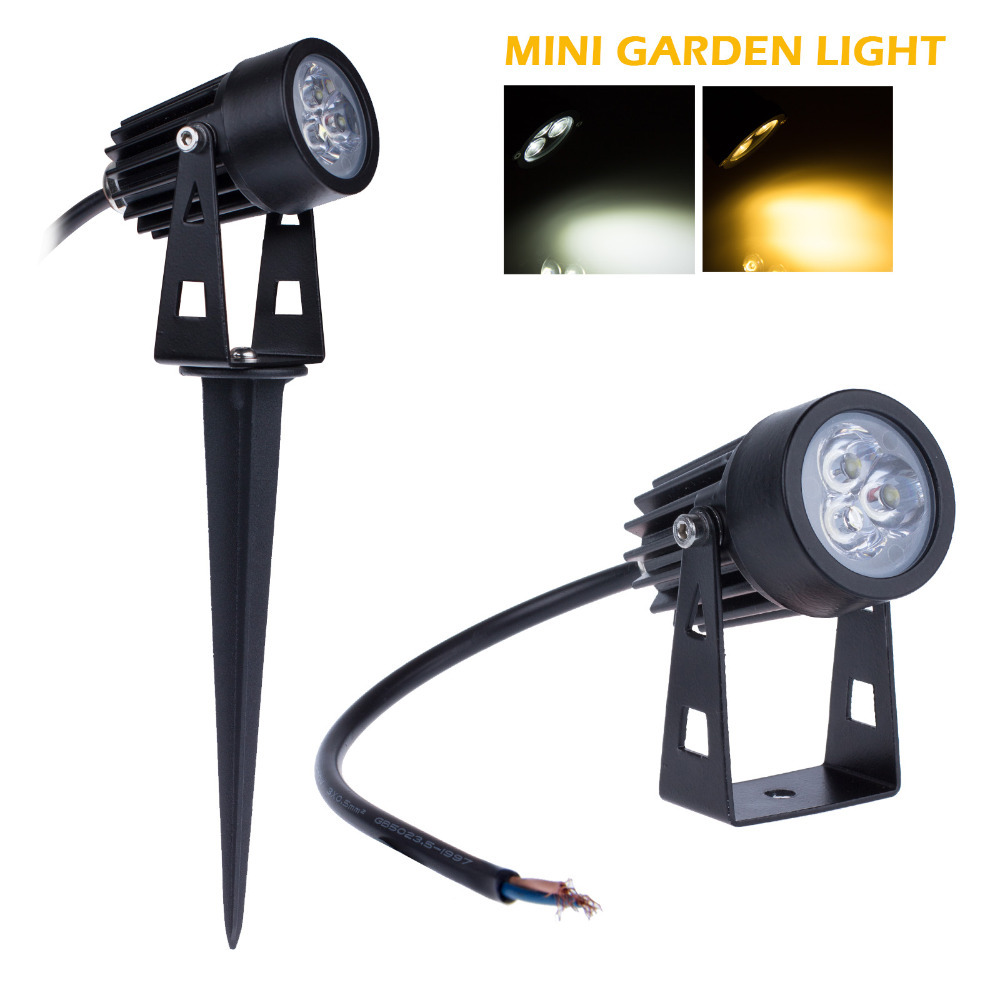 buy 3w mini led garden lamp landscape ac dc12v waterproof ip65 high quality. Black Bedroom Furniture Sets. Home Design Ideas