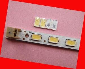 Image 2 - 200 шт./лот для ремонта Samsung LG LCD TV Светодиодная лампа с подсветкой SMD светодиоды 5630 6V холодный белый светодиод
