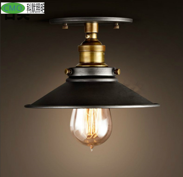 Loft Edison Vintage Ceiling Lamp Fixture Retro Kitchen Ceiling - Retro kitchen ceiling lights