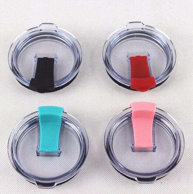 25pcs Splash Proof 20oz 30oz tumbler cups Replacement Lids Leakproof seal splash assistant lid for 30oz