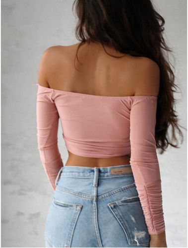 "Ladies Top Off-the-Shoulder ""Georgia"" 1"