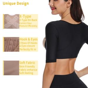 Image 4 - Miss Moly бесшовный формирователь рук, Корректирующее белье для груди, невидимое Корректирующее белье, стройнящее боди, моделирующий корсет
