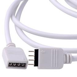 Светодиодный Удлинительный кабель, 4-контактный светодиодный светильник RGB 5050 3528