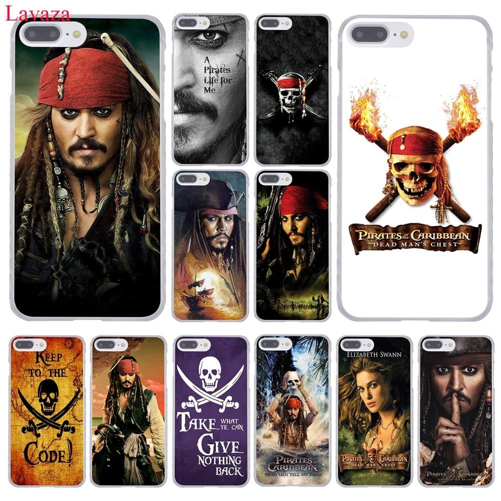 Lavaza Pirati dei caraibi Johnny Depp Duro della Cassa Del Telefono per il iphone XR XS X 11 Pro Max 10 7 8 6 6S 5 5S SE 4 4S 4 Della Copertura