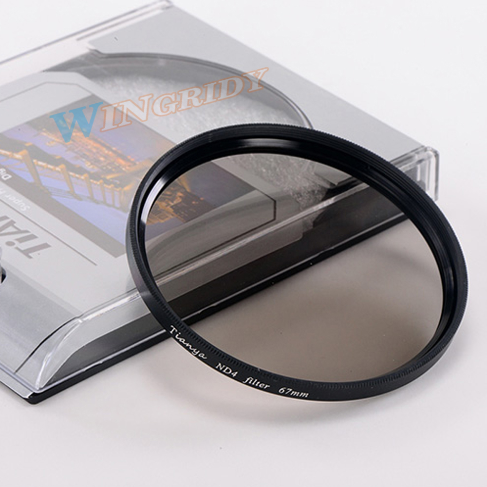ND4 ND8 ND Filter 58mm WTIANYA 37 40.5 46 49 52 55 <font><b>58</b></font> 62 67 72 77 82mm lens filtre nd Reduce Exposure Medium grey for Camera image
