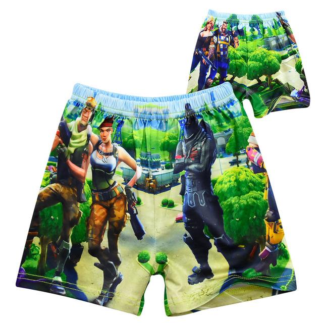 2019 New Boys Swimming Trunks Cartoon Swimsuit for Boys Summer Swim Trunk Kids Beach Wear Boy Swimwear G48-7975